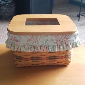 2002 Longaberger Mom's Memories Basket